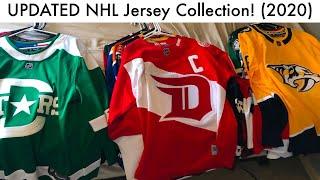 My UPDATED NHL Jersey Collection! (2020 Hockey Jerseys & Adidas/Reebok Unboxing Talk)