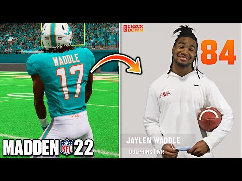 NFL ROOKIES REACT TO THEIR MADDEN 22 RATINGS