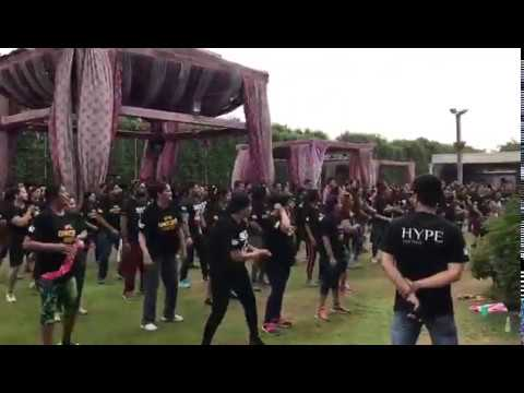 Hype the gym fitness exercise and outdoor workout