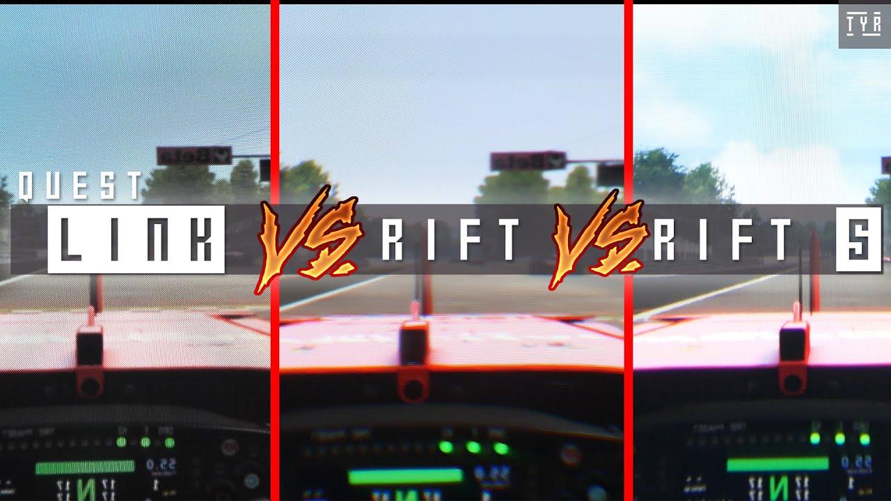 Through The Lenses Oculus Quest W Link Vs Rift S Vs Rift Youtube