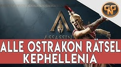 Assassins Creed Odyssey Guide  - Alle Ostrakon Rätsel Kephallenia Gelöst