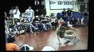 Psycho Salamander Dan(KMF/Waikiki) vs Rubix (SWAT/Anywear) in Inertia 2004