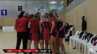 Netball | St Margaret's College  vs  Christchurch Girls' HS | Sky Sport