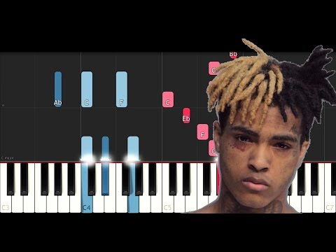 XXXTentacion  Sad! Piano Tutorial