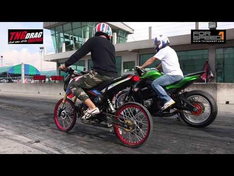 Under 800cc TNG Drag Racing 2017 Super Bike 22 กรกฏาคม 2560