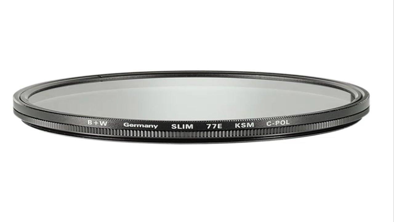 B+W 82mm Slim-Line Circular Polarizer