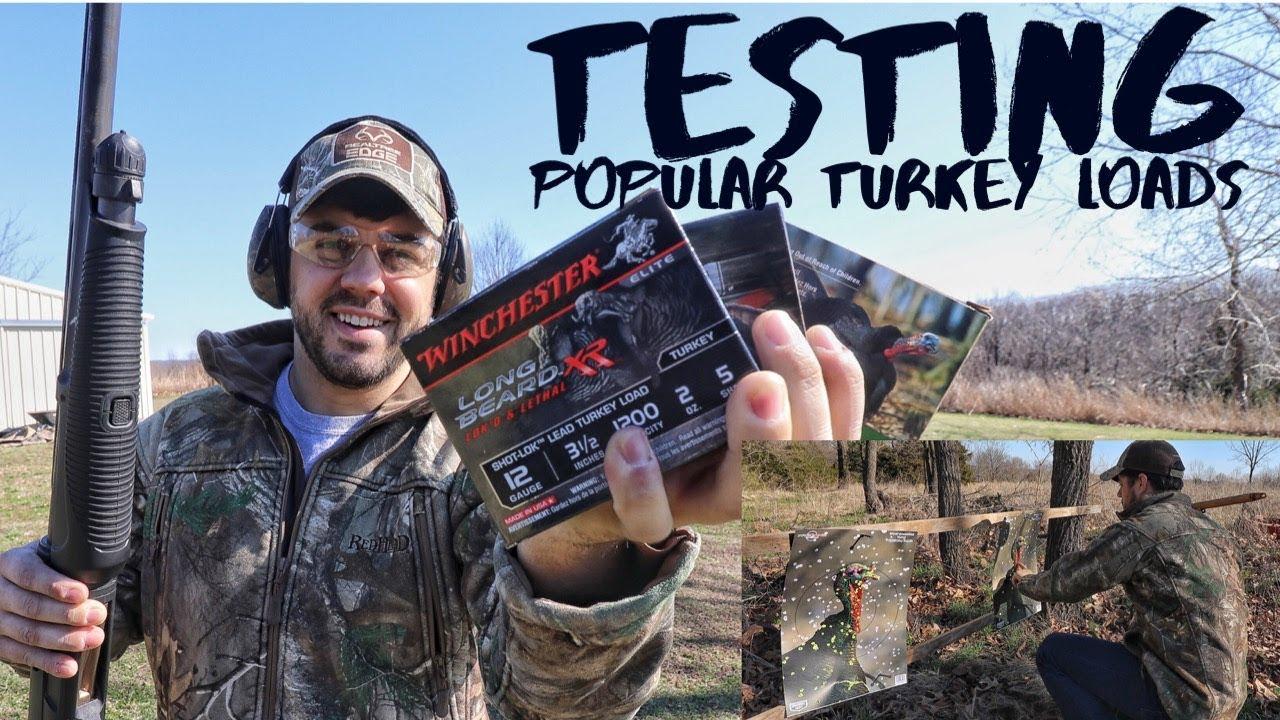 Testing Popular Turkey Loads from 20-50 Yards S8 #73