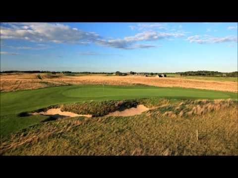 COURSE LAYOUT: 2017 US Open Erin Hills