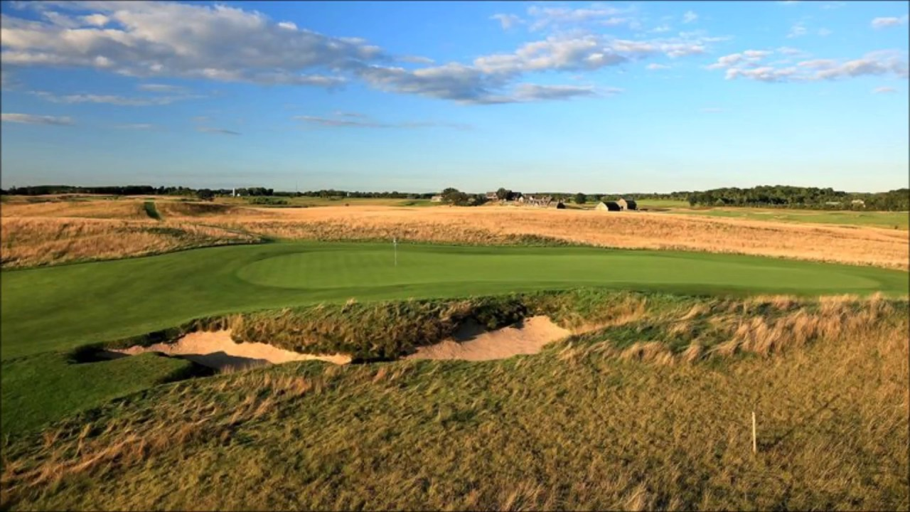 COURSE LAYOUT US Open Erin Hills YouTube - Erin hills us open map