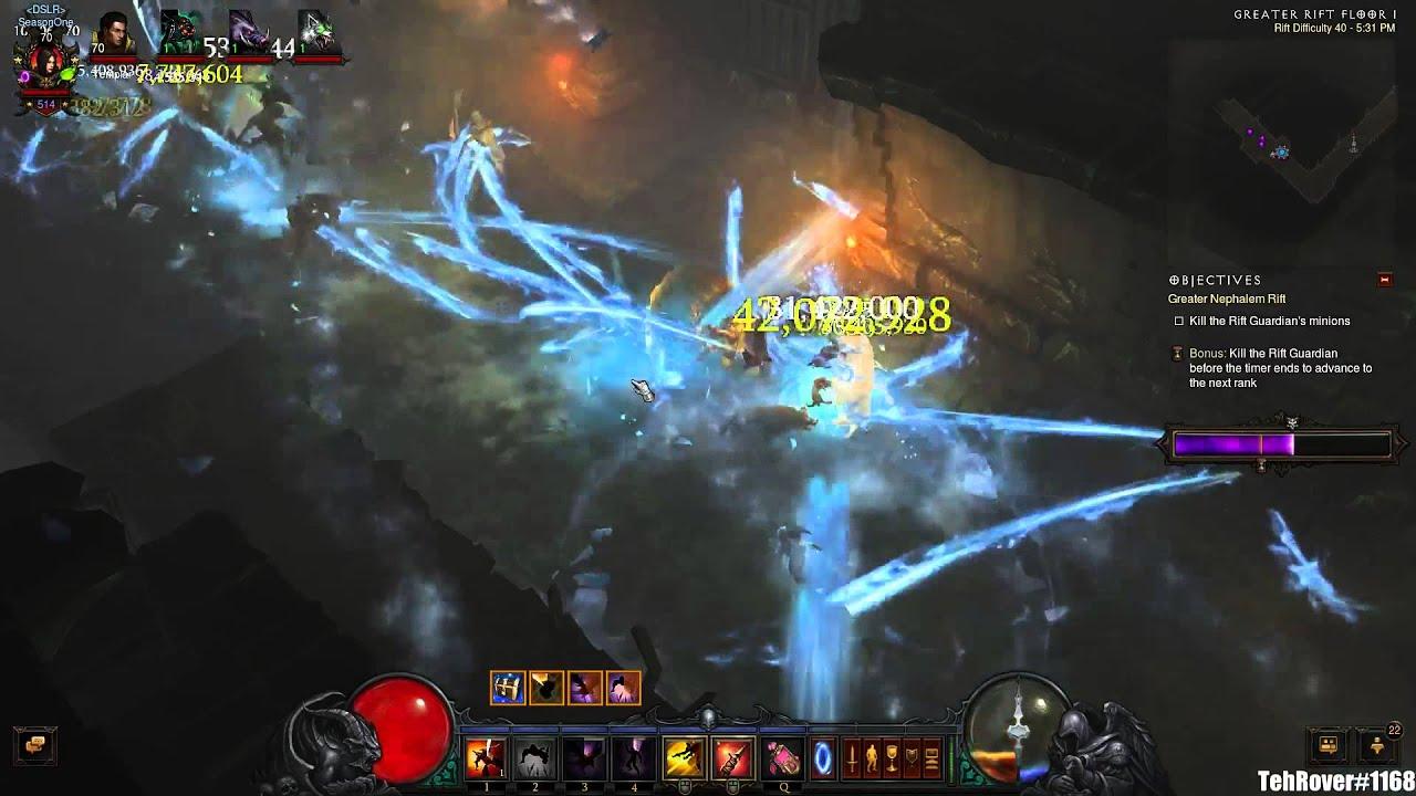 Demon Hunter Greater Rift Build