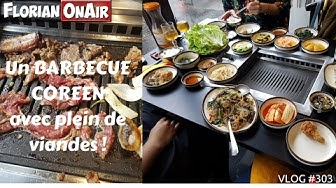 Un BARBECUE coréen avec plein de viandes! - VLOG #303