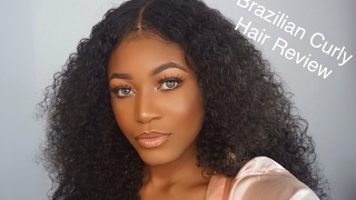 Her Hair Company Brazilian Curly Hair First Impression | Beauty With Vee ♡