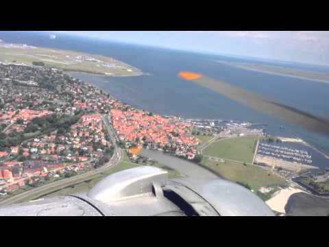 DC-3 tur over Dragør og Kastrup