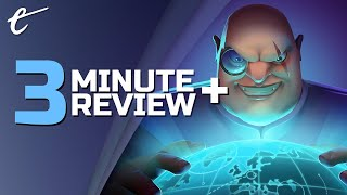 Evil Genius 2: World Domination | Review in 3 Minutes + (Video Game Video Review)