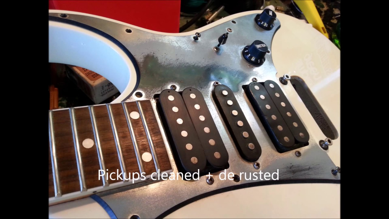 Ibanez GIO guitar repair on