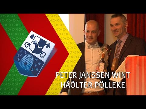 Peter Janssen wint Häölter Pölleke - 15 februari 2017 - Peel en Maas TV Venray