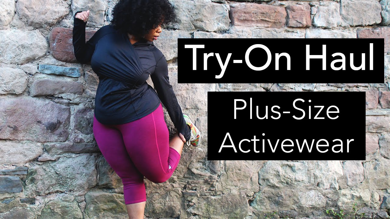 Try on haul plus size workout gear activewear youtube sciox Images