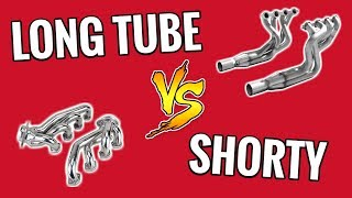 Long Tube or Short Tube Headers: Which Should You Do? - Exhaust Mods!