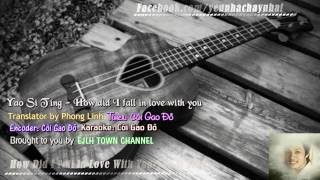 [Vietsub+Kara] How did I fall in love with you ♥ - Yao Si Ting ♥