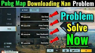 Pubg Mobile Map Not Download (Downloading nan) Problem Solve || How to Solve Pubg Mobile Map Problem