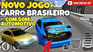 NOVO JOGO DE CARRO BRASILEIRO COM SOM AUTOMOTIVO PASSAT E JETTA SIMULATOR