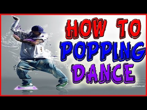 Popping dance tutorial : How to POP or Hit (Basic move for beginners)