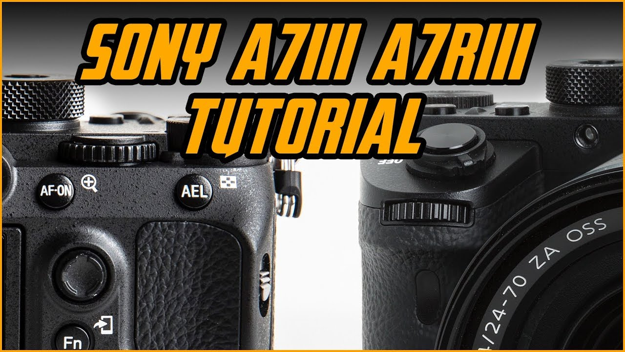 Sony A7Riii / Sony A7iii Crash Course - DVD + Download [MTM