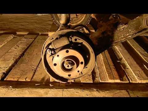 Замена троса ручного тормоза ВАЗ 2110-2112