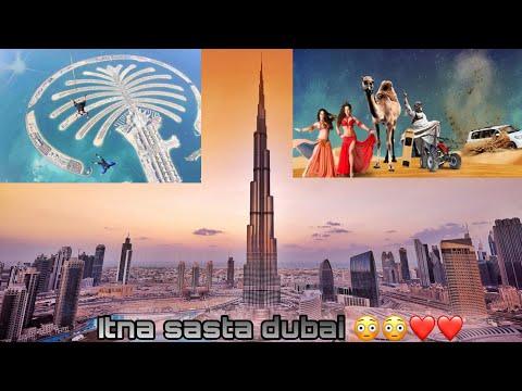 Dubai Vlog | Burj khalifa, desert safari, Night dance, The palm,  Ferrari world, jumeirah  and more
