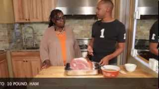 Doug's Delicious Delights/doug Gee Cooks - Pineapple Mustard Glazed Ham