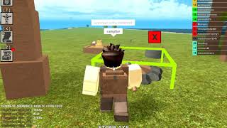 How to cook raw meat or ore's in Booga Booga Roblox