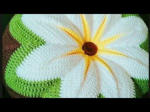 Видео уроки вязание крючком подушек