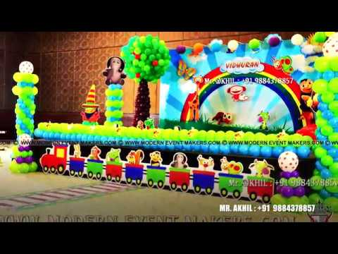 Baby Tv Theme Birthday Party In Chennai By Moderneventmakers Com Ph