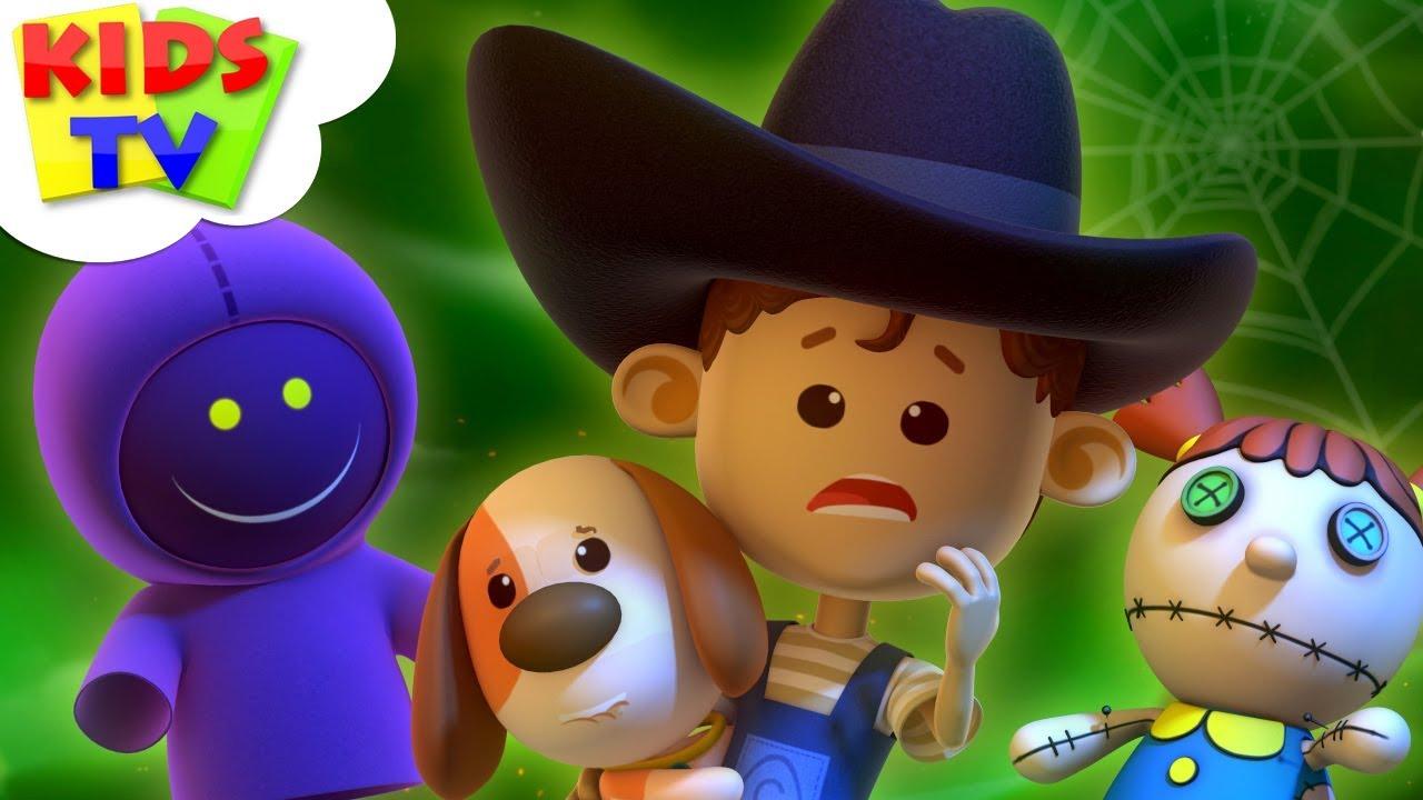 Its Halloween Night | Little Eddie | Halloween Songs For Children | Kids Tv Cartoons