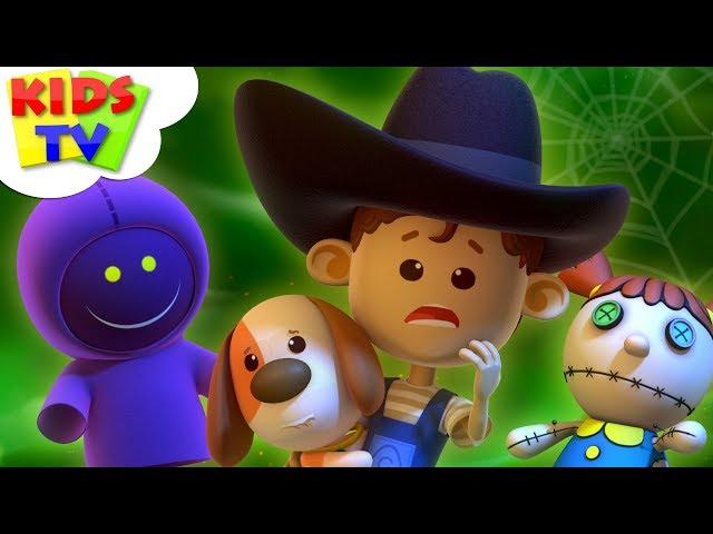 It's Halloween Night | Little Eddie | Halloween Songs For Children | Kids Tv Cartoons