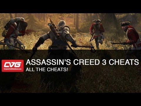 Assassins Creed 3 Cheats - All The Cheats!