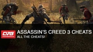 Assassins Creed 3 Cheats - All The Cheats!