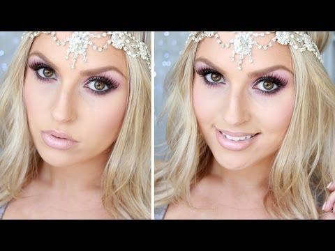 drugstore-prom-tutorial-♡-purple-lilac-&-silver-sparkles!