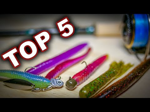 Top Spring Baits For Finesse Fishing