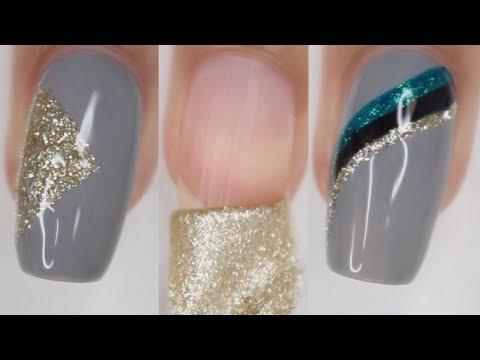 Peel off Nail polish & Easy Nail Art Ideas!