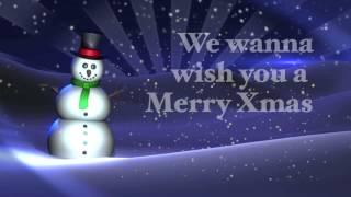 Feliz Navidad with  lyrics 2015  y prospero Año Nuevo 2016 - Classical X Mas song