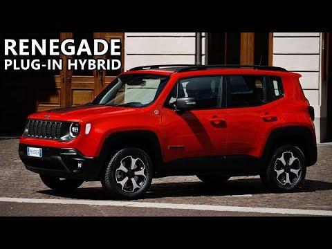 2020 Jeep Renegade Plug In Hybrid Youtube