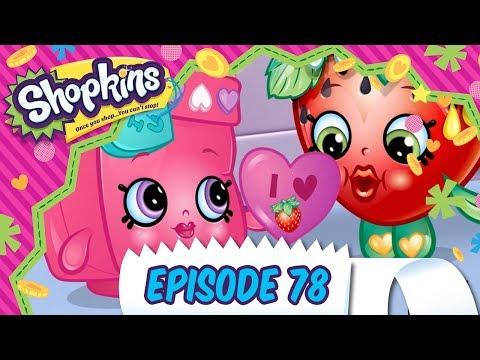 Shopkins Cartoon - Episode 77 – Be Mine Cutie| Valentine's Day | Cartoons For Children