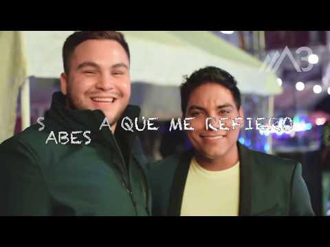"""""""NO ME HUBIERA ENAMORADO"""" SOMOS 3 FT. CUITLA VEGA (COVER) LETRA"""