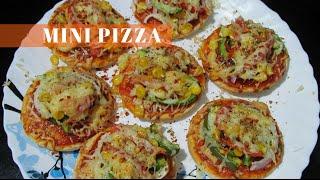 Mini Pizza Recipe  Instant Starter  Simple and Delicious