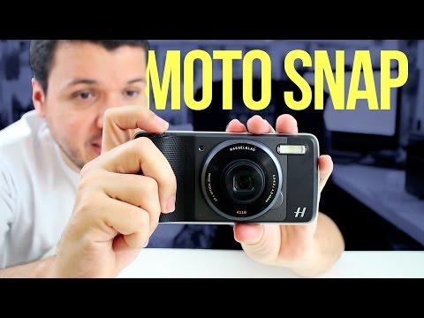 Moto Z Hasselblad o moto snap de camera - Unboxing e impressões