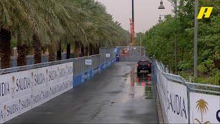 كيف تصدى فريق تنظيم فورمولا إي الدرعية لهطول الأمطار الغزير على المضمار؟