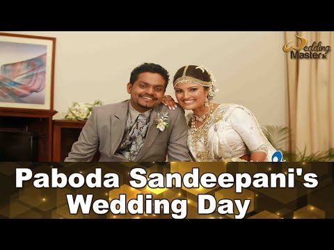 Paboda Sandeepani's  Wedding Day