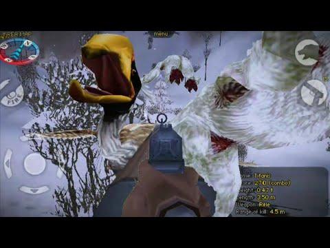 Carnivores IA:Hunting Yeti, Titanis, Indricotherium |