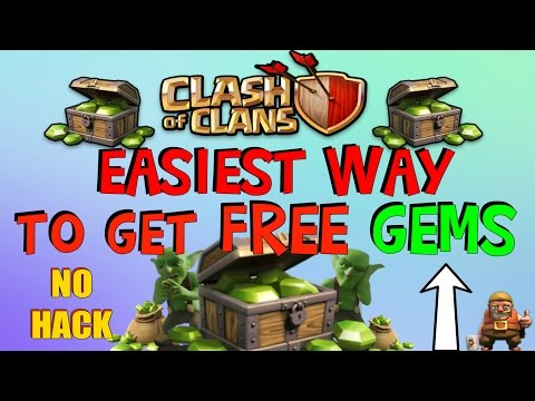 Clash Of Clans - EASIEST Way To Get FREE Unlimited Gems